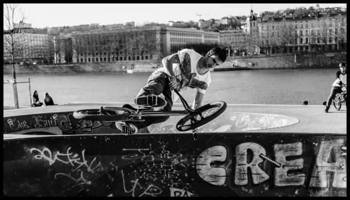 bMx on the Berges !