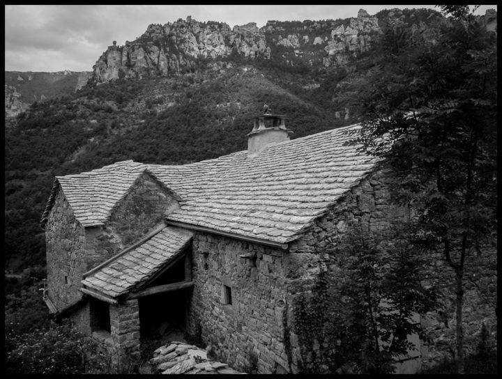 Noir et Blanc dans les Gorges du Tarn