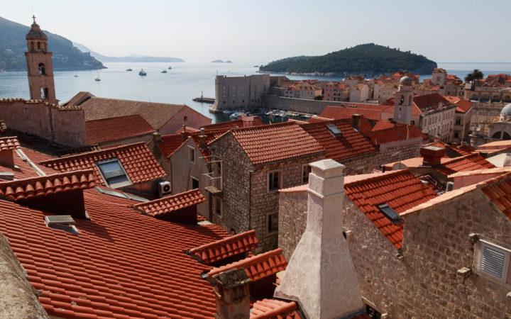 Dubrovnik, la ville rose