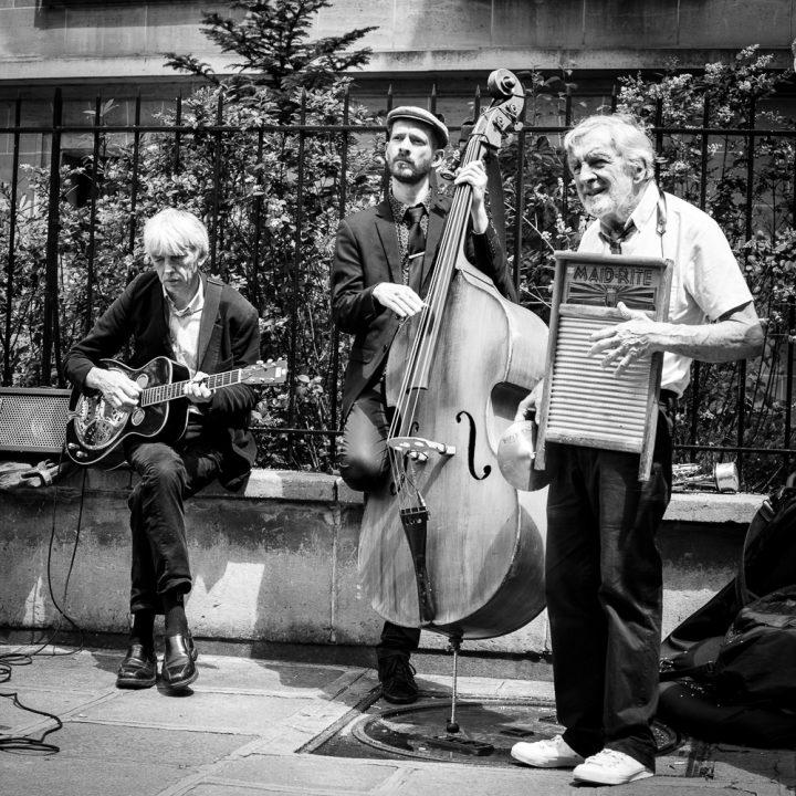 moment jazzy dans le Marais