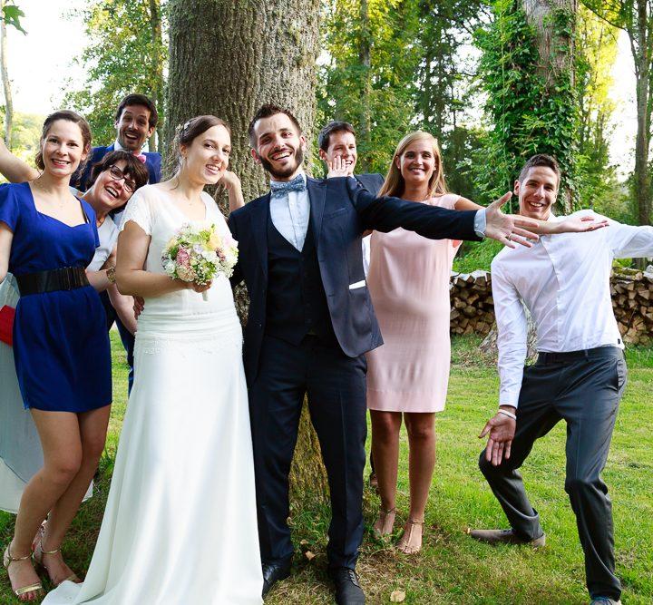 le mariage A&J : les images spéciales