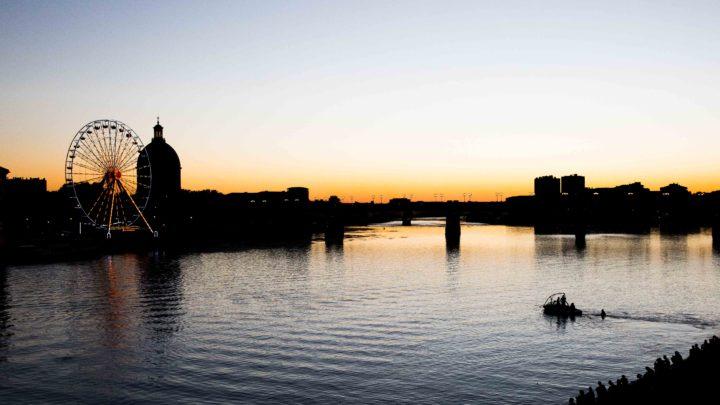 Toulouse, la Garonne, été 2016