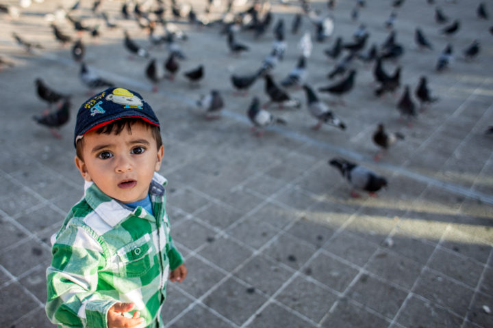 La place aux pigeons [Casablanca, octobre 2018]