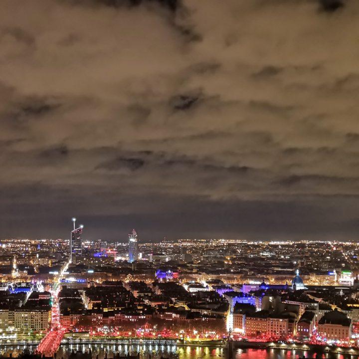 La fête des lumières par Noé [Lyon, décembre 2018]